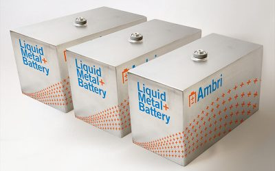Ambri was founded in 2010, spun out from work by MIT professor Donald Sadoway. Co-founder of the company Sadoway is now its chief scientific advisor and a board member. Image: Ambri