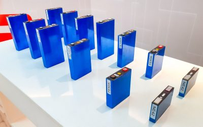 Array of different battery cell types