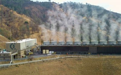Peninsula Clean Energy has also signed a recent deal for 35MW of output from Calpine's Geysers geothermal plant (pictured). Image: Calpine.