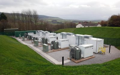 NEC ES' Cleator project in the UK, which was completed in 2017. Image: NEC.
