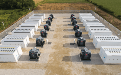 Harmony Energy has already deployed two grid-scale Tesla Megapack battery projects in the UK through a joint venture with Fotowatio Renewable Ventures (FRV). Image: Harmony Energy.