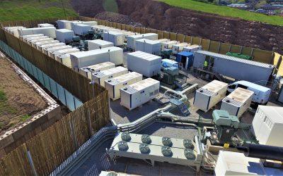 A Gresham House battery energy storage project. Image: Gresham House.