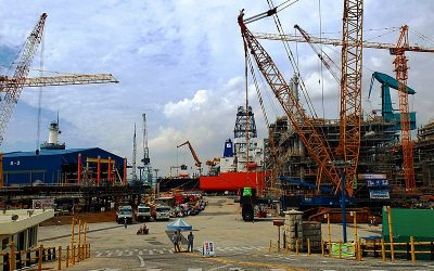 Hyundai_Heavy_Industries_ship_yard_South_Korea