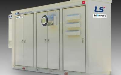 LS Energy Solutions' AiON ESS. Image: LS Energy Solutions.