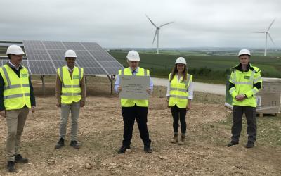 PM-Boris-Johnson-installs-first-PV-panel-at-Carland-Cross-image-ScottishPower