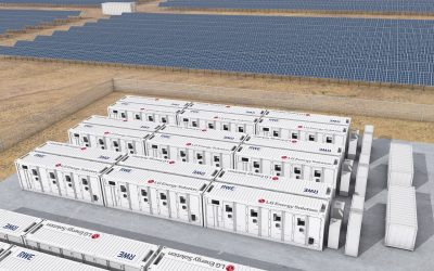 The lithium will be used in batteries for EVs as well as energy storage systems (ESS). Image: LG Energy Solution.