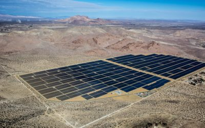 Recurrent Energy's Rosamond 1 and Rosamond 2 solar PV projects in Southern California. Image: Recurrent Energy.