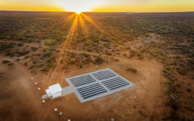 German storage system maker Tesvolt said international activities, including a at this Australian gold mine now accounts for about 40% of its business, but Germany remains important, too. Image: Tesvolt.