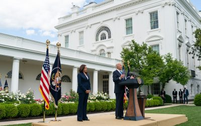Biden faces a difficult balancing act between trade disputes and decarbonisation. Image: White House.