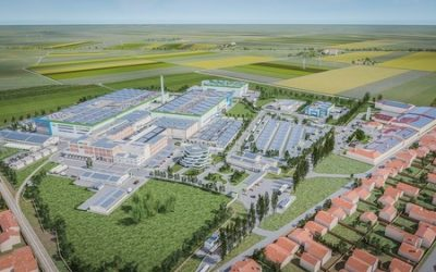 How the production plant in Subotica, Serbia, could look. Image: ElevenES.
