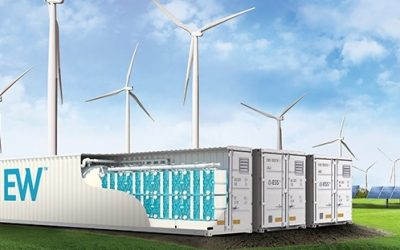 17 of ESS Inc's Energy Warehouse systems will be connected at the site. ESS Inc said the deal follows a six month evaluation of its technology and the company itself by Enel Green Power. Image: ESS Inc.