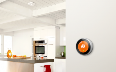 Leap's platform integrates devices including Google Nest thermostats which can be used for demand response. Image: Google.