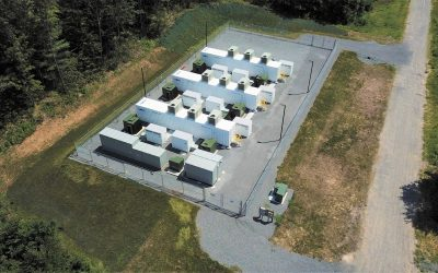 New York's first grid-scale battery storage system.
