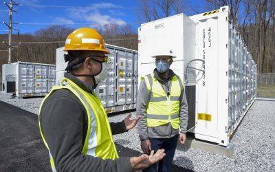 Key Capture Energy's non-wires alternative project for Orange & Rockland in Pomona, New York. Image: Key Capture Energy.