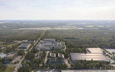 The Northvolt Labs complex in Västerås, Sweden. Image: Northvolt.