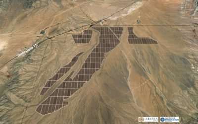 Quinbrook also acquired the Geminia large-scale solar-plus-storage project in Nevada. Image: Primergy.