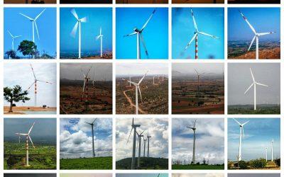 Renew Power wind farms.
