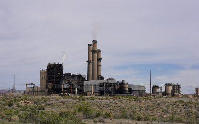 San Juan Generating Station is closing next year. Image: wikimedia user Steven Baltakatei Sandoval.