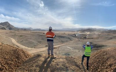 The project at Sukari goldmine in Egypt will reduce diesel consumption at the site by about 20 million to 22 million litres per year. Image: juwi.