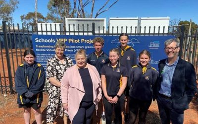 Synergy has also launched a government-supported virtual power plant (VPP) programme for schools. Image: Synergy.
