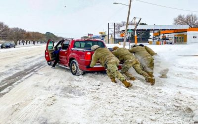 Texas Guard Supports Winter Weather Response