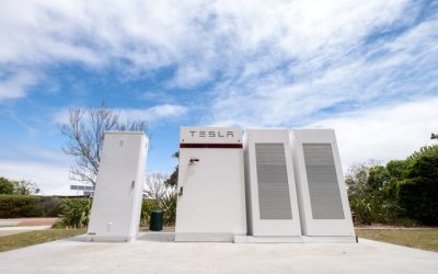 A Western Power community, or neighbourhood battery storage project. In its more rural service areas the state-owned network company said standalone power systems and DMGs could be a feasible way to serve local communities and businesses with power. Image: Western Power.